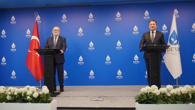 Babacan ve Karamollaoğlu'dan 'erken seçim' sorusuna yanıt