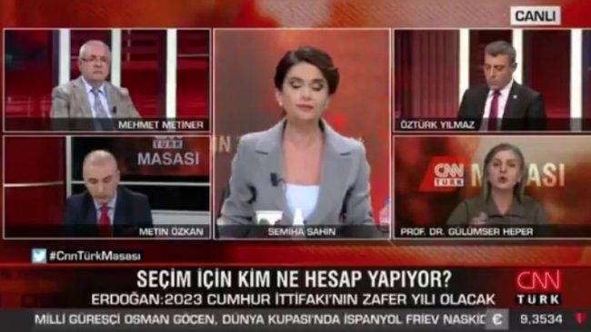 Canlı yayında 'Sayın Öcalan' tartışması