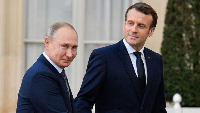 Putin ve Macron arasında Dağlık Karabağ görüşmesi