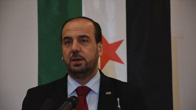 SMDK Başkanı Hariri: Rusya, İran ya da Suriye rejiminin bir adım ileriye gelmesini istemiyoruz