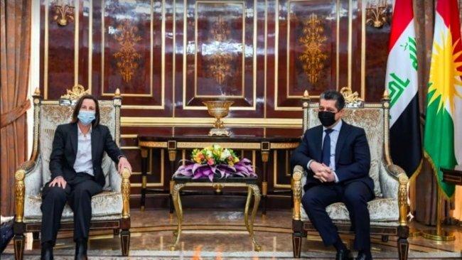 Başbakan Barzani, Avusturalya'nın Irak Büyükelçisiyle bir araya geldi