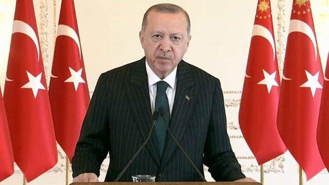 Erdoğan: Üçlü şer eksenini kırmaya kararlıyız