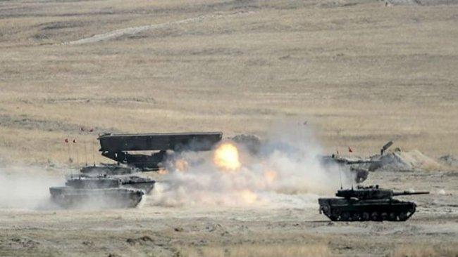 TSK, Suriye'de rejim kontrolündeki noktaları vurdu
