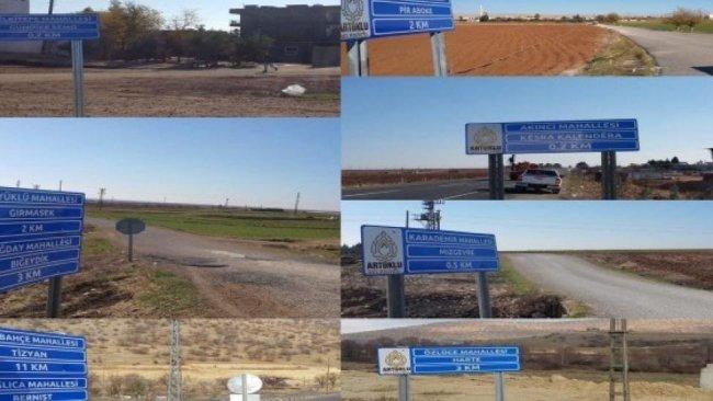 Artuklu Belediyesi, Kürtçe tabeladan X,W,Q harflerini sildi