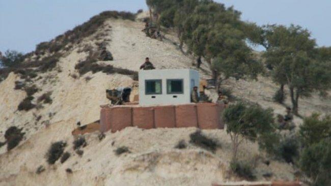 TSK, M4 karayoluna nöbet kuleleri kurdu