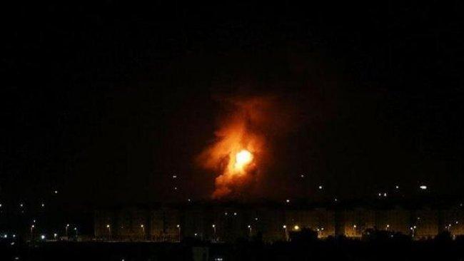 İsrail'den Şam'da hava saldırısı