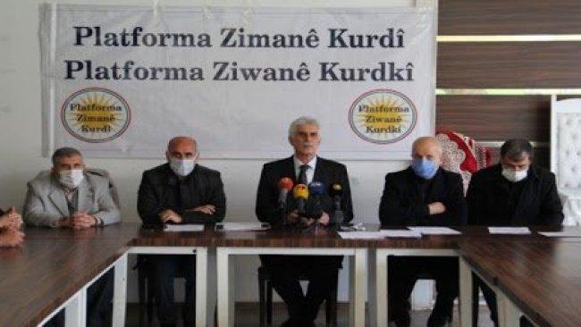 Kürt Dil Platformu'ndan TDK'ye çağrı ve 10 öneri