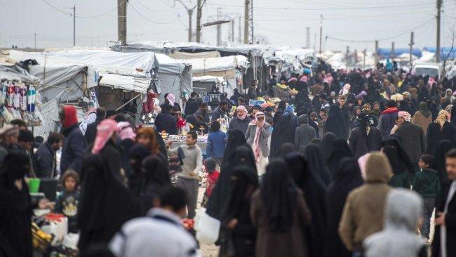 'IŞİD Rojava'daki Hol Kampı'nda hilafet devleti kurmuş'