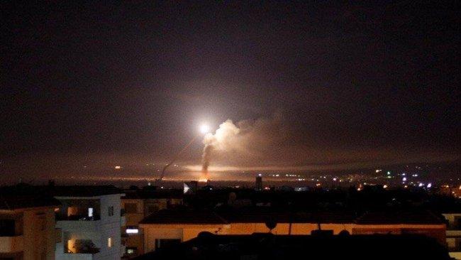 SANA: İsrail, Deyr ez Zor'a hava saldırısı düzenledi