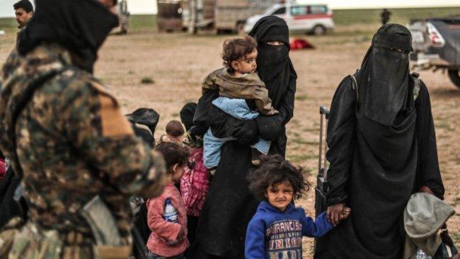 Rojava Özerk Yönetimi 7 çocuğu Fransa'ya teslim etti