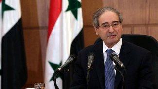 AB′den Suriye Dışişleri Bakanı'na yaptırım