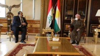 Başkan Barzani, Irak Parlamentosu heyetiyle görüştü