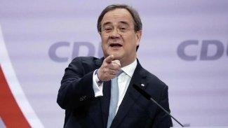 CDU'nun yeni lideri Laschet oldu