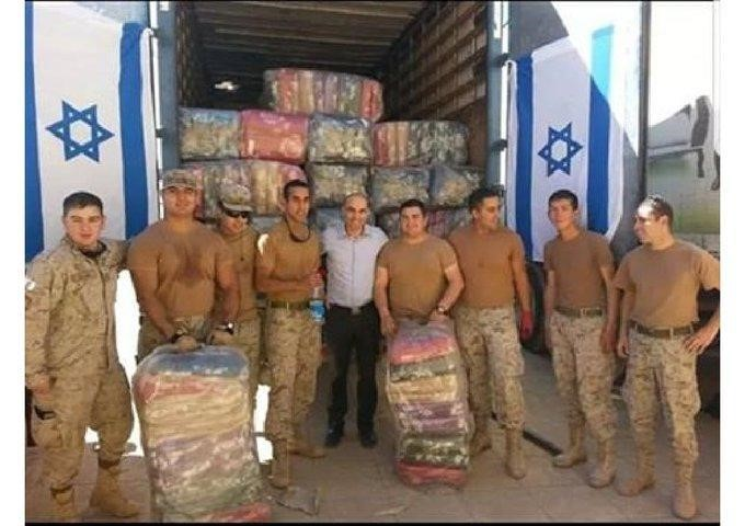 İsrail'in Rojava'ya yardımı