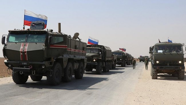 Rusya'dan DSG kontrolündeki bölgelere askeri sevkiyat