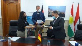 Almanya'dan Duhok'a sağlık yardımı