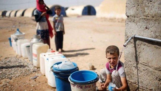 Heseke'de 1 milyon kişi susuz kaldı