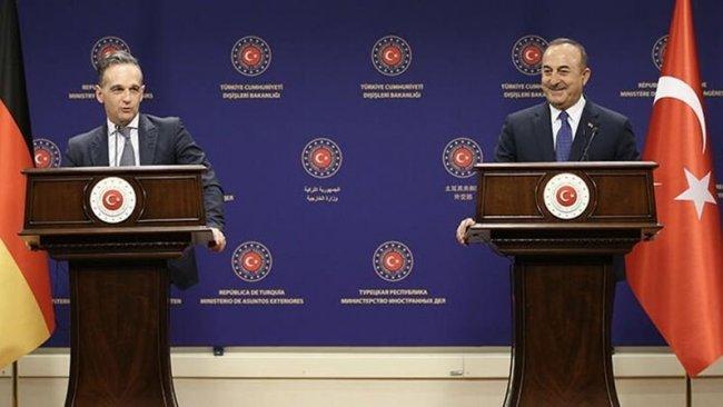 Türkiye ve Almanya'dan ortak 'Doğu Akdeniz' mesajı