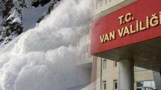 Van'da '9 kişi çığ altında kaldı' ihbarı: Valilikten açıklama geldi