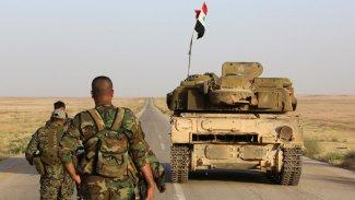 Irak Suriye Sınırındaki Güvenliği Arttırıyor