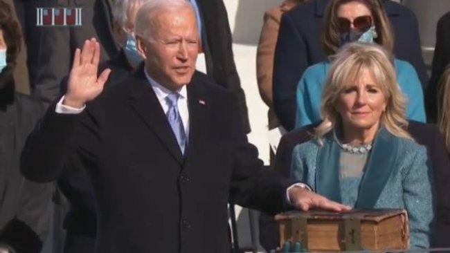 Joe Biden, resmen ABD'nin 46. Başkanı oldu