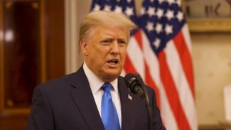 Trump'tan 'veda' konuşması