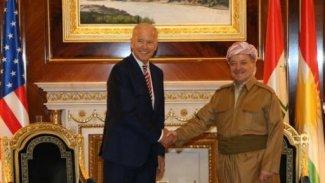 ABD Erbil Başkonsolosluğu, Joe Biden ile Mesud Barzani fotoğraflarını paylaştı