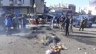 Bağdat'ta çifte intihar saldırısı: Çok sayıda ölü ve yaralı var