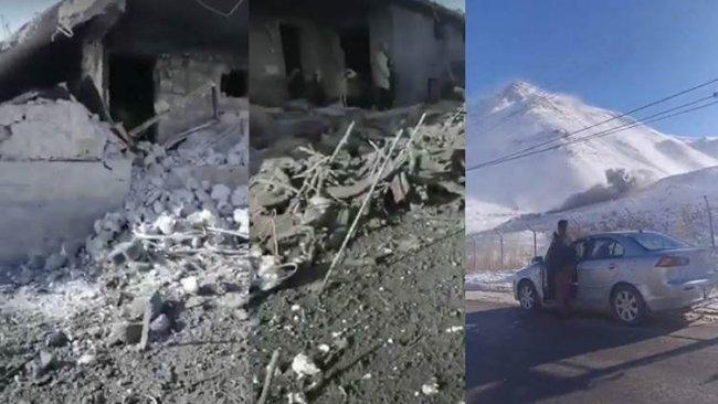 TSK, Kürdistan Bölgesi'nin farklı bölgelerini bombaladı