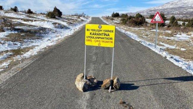 Diyarbakır'da bir mahalle mutasyonlu koronavirüs nedeniyle karantinaya alındı