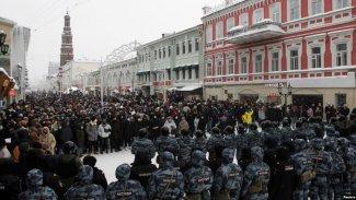 Rusya'da düzenlenen eylemlerde '2 binden fazla kişi gözaltına alındı'