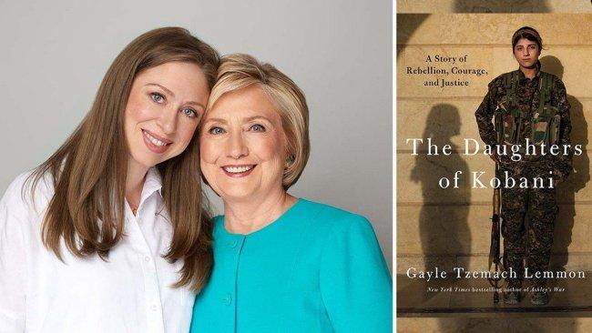 Hillary Clinton, Chelsea'nın film şirketi 'Kobani'nin Kızları' isimli kitabın TV haklarını aldı