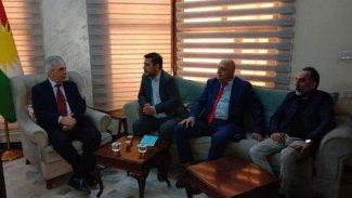 Kürt partileri ENKS ile görüştü