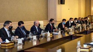 Kürdistan Bölgesi Hükümeti heyeti Irak Parlamentosu Başkanlığı'yla bir araya geldi