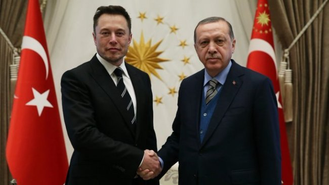 Erdoğan Elon Musk ile görüştü
