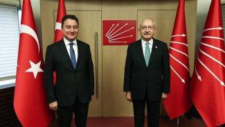 Kılıçdaroğlu ve Babacan'dan ortak açıklama: 'Yeni bir süreci başlatıyoruz'