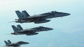 Koalisyon uçakları Kerkük'te IŞİD'i bombaladı: 10 ölü