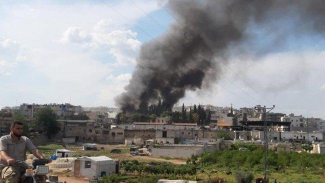 Afrin'de bombalı araç saldırısı: Ölü ve yaralılar var