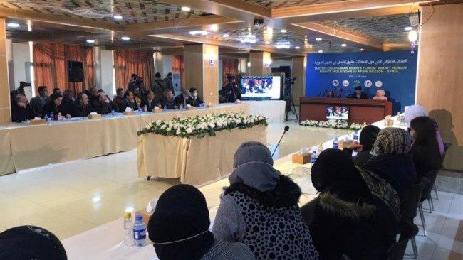 Kamışlo'da Afrin çalıştayı: 'İhlaller gün geçtikçe artıyor'