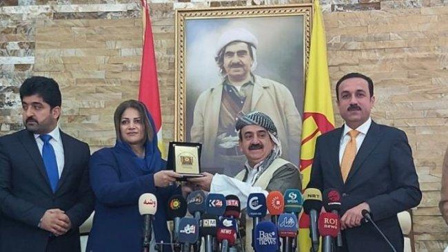 Umêd Xoşnaw Erbil Valiliği'ne aday olduğunu açıkladı