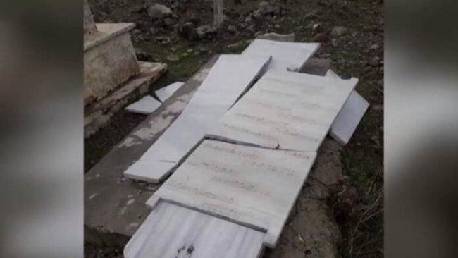 Afrin'de silahlı gruplar Kürt şairin mezarını tahrip etti