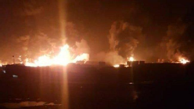 El Bab'da balistik füzeli saldırı