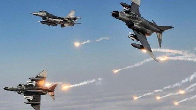 Uluslararası Koalisyon Güçleri'nden IŞİD'e hava saldırısı