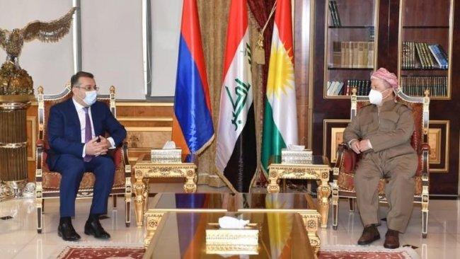 Ermenistan: Kürdistan Bölgesi ile ilişkileri geliştirmek istiyoruz