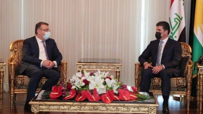 Neçirvan Barzani, Ermenistan heyeti ile bir araya geldi