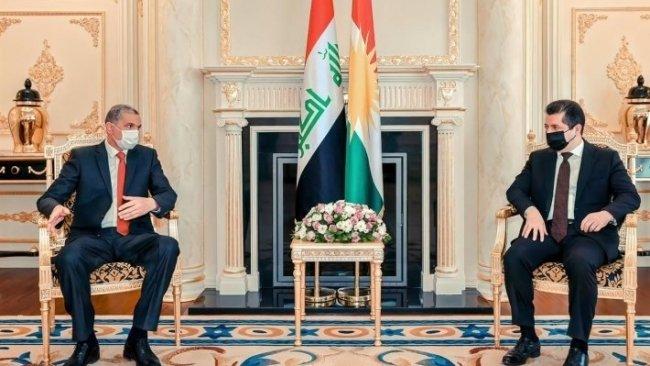 Başbakan Barzani ve Irak İçişleri Bakanı'ndan işbirliği vurgusu
