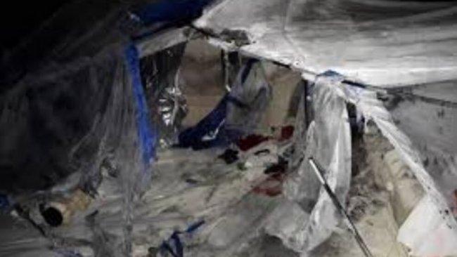Hol Kampı'nda yangın: 3 ölü, onlarca yaralı