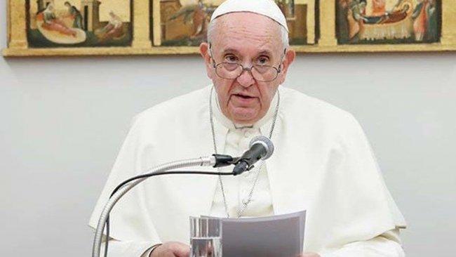 Papa, iklim krizini 'Nuh tufanı'na benzetti