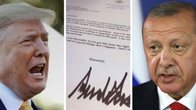 Trump'ın mektubu 'örgüt propagandası' sayıldı