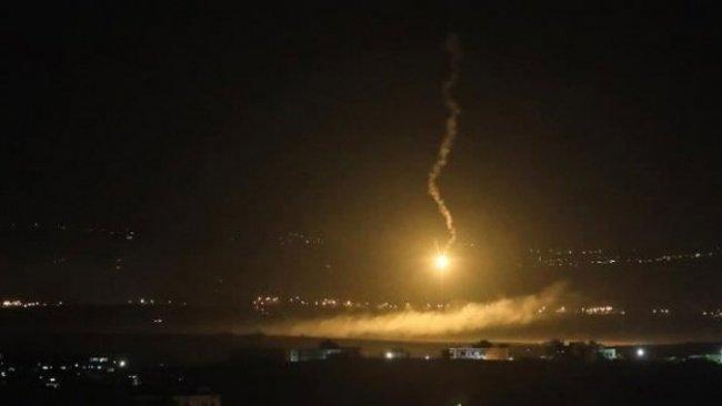 SANA: İsrail, Şam'a hava saldırısı düzenledi